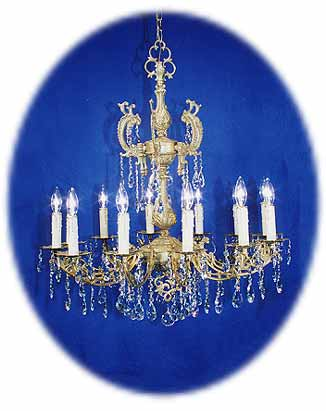 Our featured chandelier